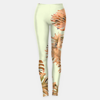 Thumbnail image of Stay Tropical Leggings, Live Heroes