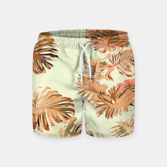 Thumbnail image of Stay Tropical Swim Shorts, Live Heroes