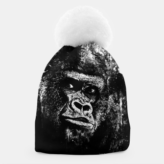 Thumbnail image of gorilla monkey face expression wsbw Beanie, Live Heroes