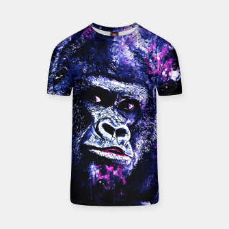 Thumbnail image of gorilla monkey face expression wscb T-shirt, Live Heroes