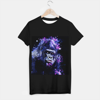 Thumbnail image of gorilla monkey face expression wscb T-shirt regular, Live Heroes