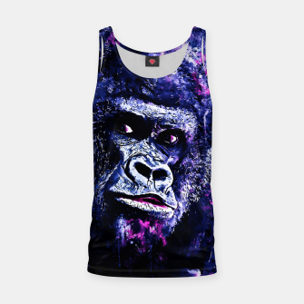 Thumbnail image of gorilla monkey face expression wscb Tank Top, Live Heroes