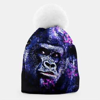 Thumbnail image of gorilla monkey face expression wscb Beanie, Live Heroes