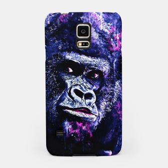 Thumbnail image of gorilla monkey face expression wscb Samsung Case, Live Heroes