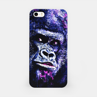 Thumbnail image of gorilla monkey face expression wscb iPhone Case, Live Heroes