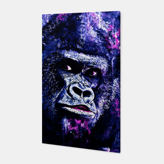 Thumbnail image of gorilla monkey face expression wscb Canvas, Live Heroes