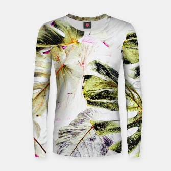 Thumbnail image of Vintage Tropica Women sweater, Live Heroes