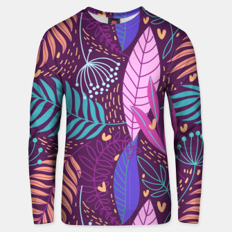 Thumbnail image of Hand-Drawn Plants Unisex sweater, Live Heroes