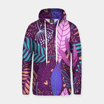 Thumbnail image of Hand-Drawn Plants Hoodie, Live Heroes