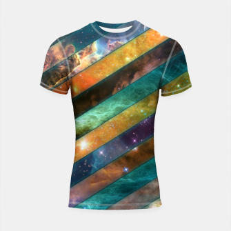 Thumbnail image of All Nebulas Shortsleeve rashguard, Live Heroes