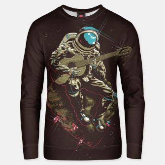 Thumbnail image of Astronaut Guitar Unisex sweater, Live Heroes