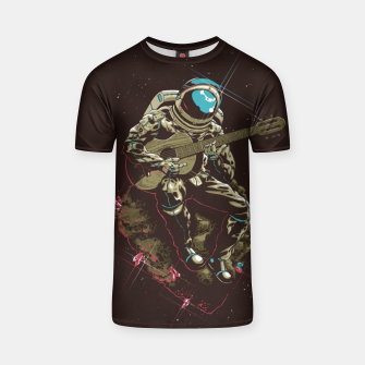 Thumbnail image of Astronaut Guitar T-shirt, Live Heroes