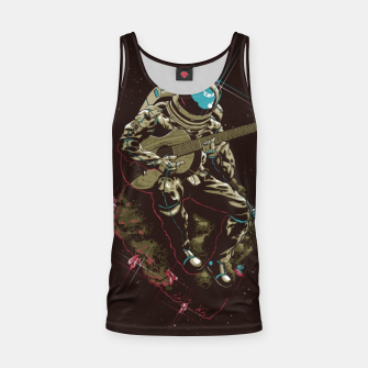 Thumbnail image of Astronaut Guitar Tank Top, Live Heroes