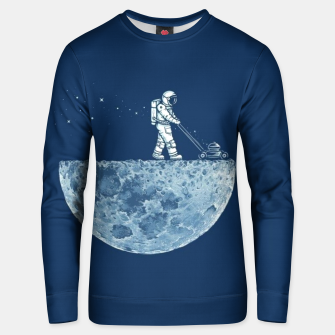 Thumbnail image of Space Grassing Unisex sweater, Live Heroes