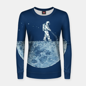 Thumbnail image of Space Grassing Women sweater, Live Heroes