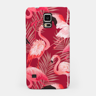 Thumbnail image of Red Flamingosss Samsung Case, Live Heroes