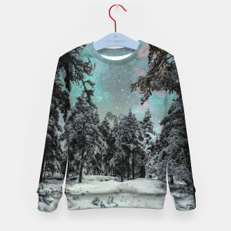 Miniatur Make your own path Kid's sweater, Live Heroes