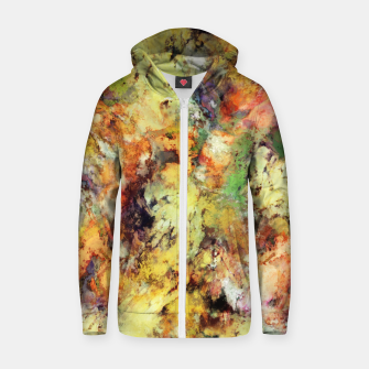Thumbnail image of Brittle Zip up hoodie, Live Heroes