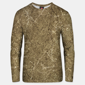 Thumbnail image of Grunge Abstract Textured Print Unisex sweater, Live Heroes