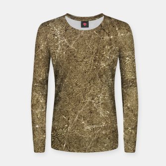 Thumbnail image of Grunge Abstract Textured Print Women sweater, Live Heroes