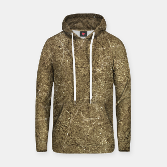 Thumbnail image of Grunge Abstract Textured Print Hoodie, Live Heroes