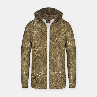 Thumbnail image of Grunge Abstract Textured Print Zip up hoodie, Live Heroes