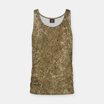 Thumbnail image of Grunge Abstract Textured Print Tank Top, Live Heroes
