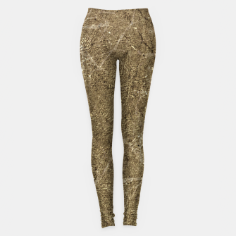 Thumbnail image of Grunge Abstract Textured Print Leggings, Live Heroes