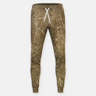 Thumbnail image of Grunge Abstract Textured Print Sweatpants, Live Heroes