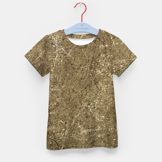 Thumbnail image of Grunge Abstract Textured Print Kid's t-shirt, Live Heroes