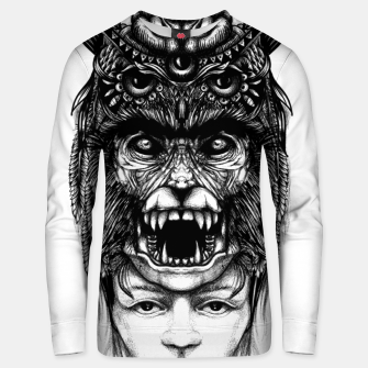 Thumbnail image of WolfGirl Second Unisex sweater, Live Heroes