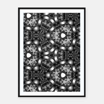 Thumbnail image of Silver Tech IEDF-0119072021 Framed poster, Live Heroes
