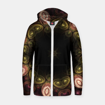 Thumbnail image of Magic garden Zip up hoodie, Live Heroes
