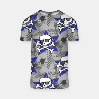 Thumbnail image of The Hipster Skull T-shirt, Live Heroes