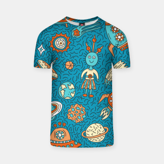 Thumbnail image of Space Freak UFOs T-shirt, Live Heroes