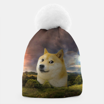 Thumbnail image of Doge Meme Beanie, Live Heroes