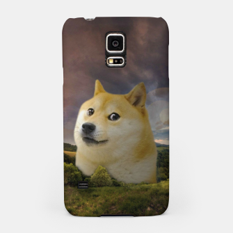 Thumbnail image of Doge Meme Samsung Case, Live Heroes