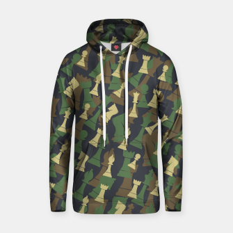 Thumbnail image of Chess Camo WOODLAND Hoodie, Live Heroes
