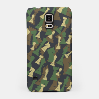 Thumbnail image of Chess Camo WOODLAND Samsung Case, Live Heroes
