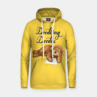 Thumbnail image of Doodling Doodle (Yellow) Hoodie, Live Heroes