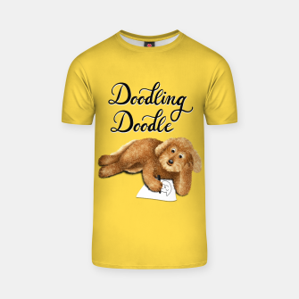 Thumbnail image of Doodling Doodle (Yellow) T-shirt, Live Heroes