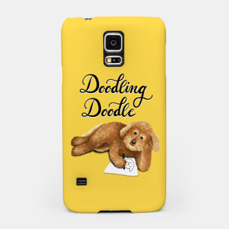 Thumbnail image of Doodling Doodle (Yellow) Samsung Case, Live Heroes