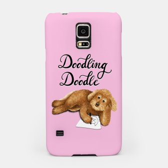 Thumbnail image of Doodling Doodle (Pink) Samsung Case, Live Heroes