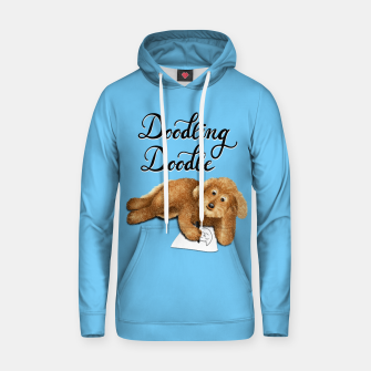 Thumbnail image of Doodling Doodle (Blue) Hoodie, Live Heroes