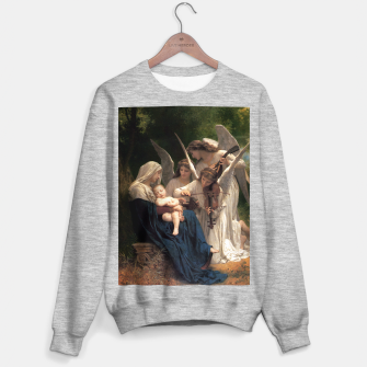 Thumbnail image of The Angels by William Adolphe Bouguereau Sweater regular, Live Heroes
