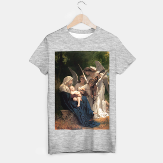Thumbnail image of The Angels by William Adolphe Bouguereau T-shirt regular, Live Heroes