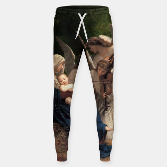 Thumbnail image of The Angels by William Adolphe Bouguereau Sweatpants, Live Heroes