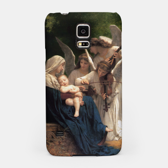 Thumbnail image of The Angels by William Adolphe Bouguereau Samsung Case, Live Heroes