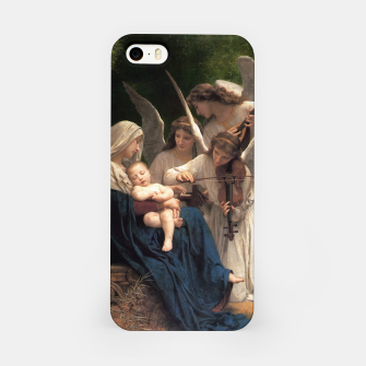 Thumbnail image of The Angels by William Adolphe Bouguereau iPhone Case, Live Heroes