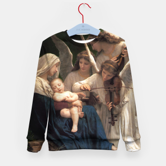 Thumbnail image of The Angels by William Adolphe Bouguereau Kid's sweater, Live Heroes